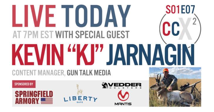 "CCX2 S01E07: KEVIN ""KJ"" JARNAGIN, Content Manager with Gun Talk Media"