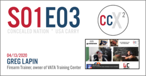 CCX2 S01E03: LIVE Event With Greg Lapin, Owner Of VATA Training Center