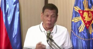 "Philippine President During Pandemic: ""Do not challenge the Government. You will lose."""