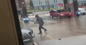 Man Coughing And Not Covering His Mouth Leads To Shots Fired [VIDEO]
