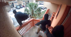 FL Resident Opens Fire On 3 Armed Intruders, And Watch How Quickly They Try To Run
