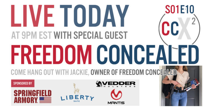 CCX2 S01E10: Jackie, Owner of Freedom Concealed, Covers Concealed Carry For Women And Campus Carry