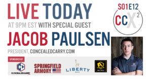 CCX2 S01E12: Jacob Paulsen, President of ConcealedCarry.com