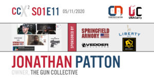 CCX2 S01E11: Jonathan Patton, owner of The Gun Collective