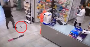 Robber's Magazine Flies Out Of Gun During Robbery, Giving Us All An LOL