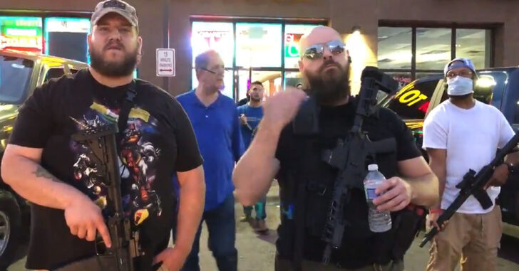 This Is Why We Covered The Minneapolis Chaos Last Night: Armed Americans Defending Businesses