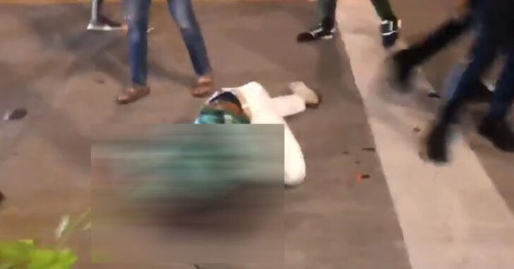 UPDATE: Man Trying To Defend Business Is Brutally Attacked By Rioters In Dallas *GRAPHIC WARNING*