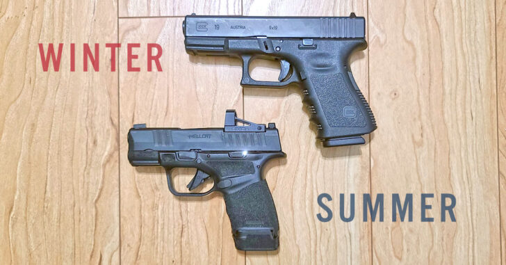 Changing Your Carry Gun When Summer Approaches. Here's What I Do And Why.
