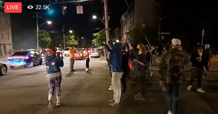 Tonight's LIVE Feed List From Riots And Protests Across America