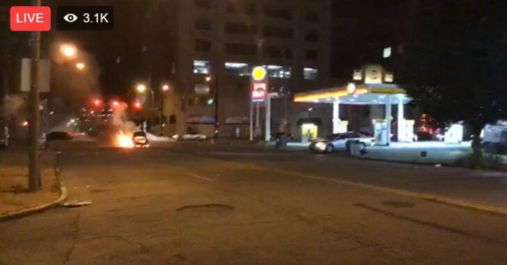 LIVE NOW: St. Louis Street Under Attack With Dozens Of Gunshots
