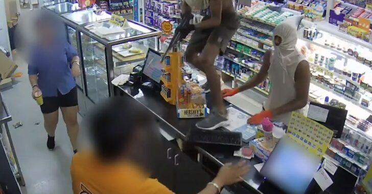 Armed Robbers Offer Multiple Opportunities For Self-Defensive Moves