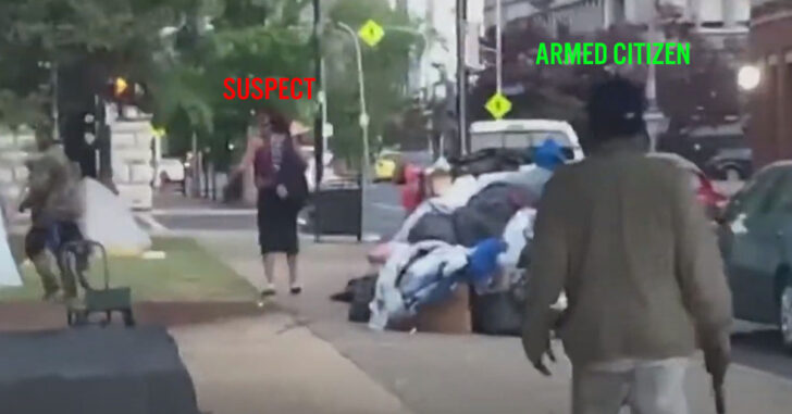 [GRAPHIC WARNING] Man Opens Fire On Protesters In Louisville With Armed Citizens Close By