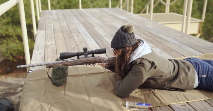 Volquartsen Firearms Range Sessions featuring Sportswoman Courtney