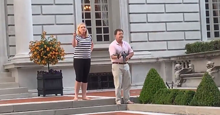 [VIDEO] Armed Couple Releases Statement Via Lawyer Explaining Why They Did What They Did
