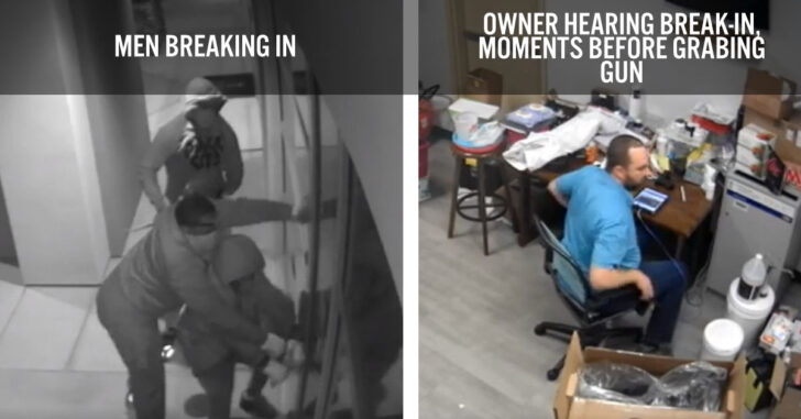 Pharmacy Owner Foils Robbery Attempt After Being Alert And Ready To Defend
