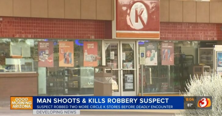 Armed Citizen Shoots And Kills Armed Robber Who Already Took A Life And Hit Up 3 Gas Stations