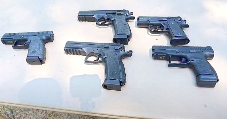 [VIDEO] A Rundown Of Multiple CZ Handguns