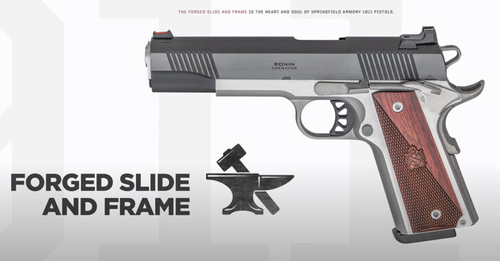 Springfield Armory Introduces The Ronin Operator 4.25″ in .45 ACP