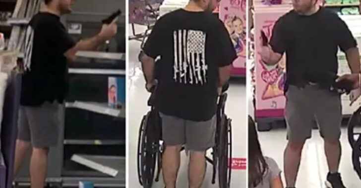 Man Arrested, Facing Felony Charges After Gun Incident Caught On Camera Inside FL Walmart
