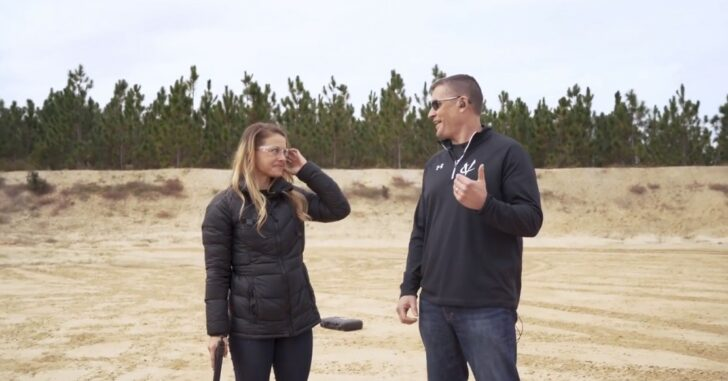 Volquartsen Firearms Range Sessions featuring Christmas Abbott – VIDEO