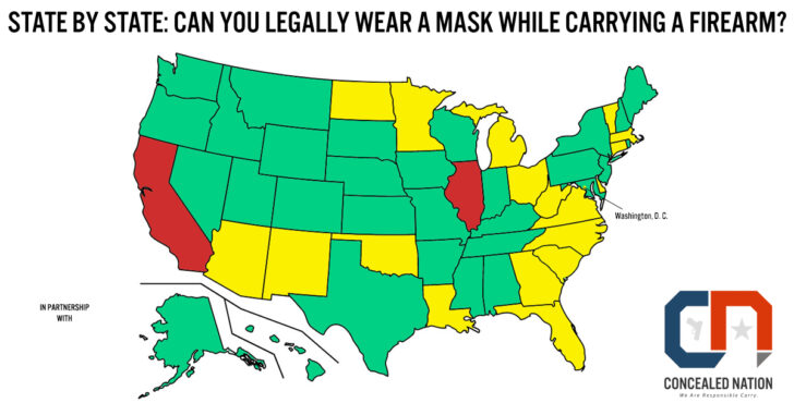 State By State: Can I Legally Wear A Mask While Carrying A Concealed Firearm?