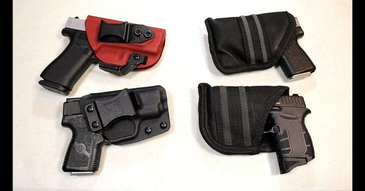 Holster Carry Vs Pocket Carry Handgun Showdown – VIDEO