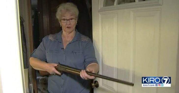 "Grandma Foils Intruder's Plans: ""I reached over and got my shotgun, and I cocked it"""