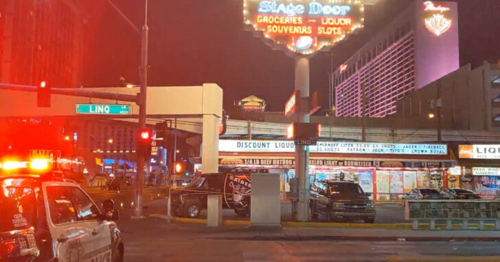 Three People Shot After Drive-By Shooting Near Vegas Strip
