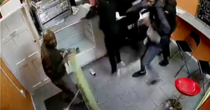 [VIDEO] Man Opens Fire In Crowded UK Bakery, Shooting 3 People Before Fleeing