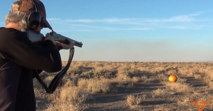 [VIDEO] What Happens When You Try To Carve A Pumpkin With A .500 S&W?