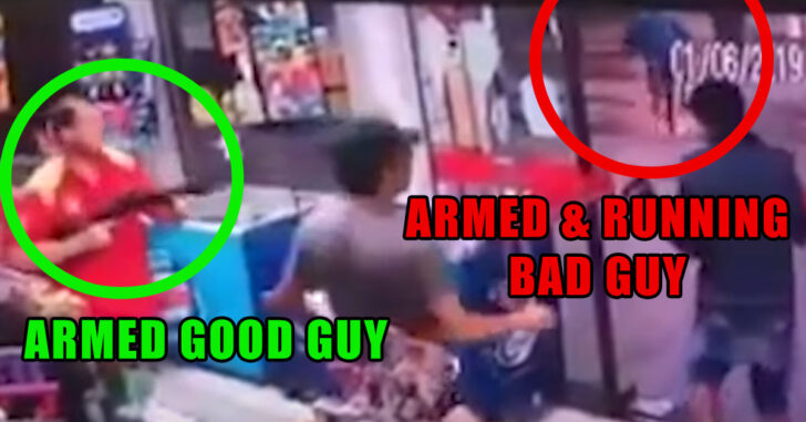 The Armed Good Guy, More Times Than Not, Wins The Fight Without Firing A Single Shot