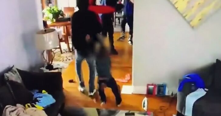 [VIDEO] Five-Year-Old Shows No Fear in Protecting His Home and Family Against Trio of Armed Intruders