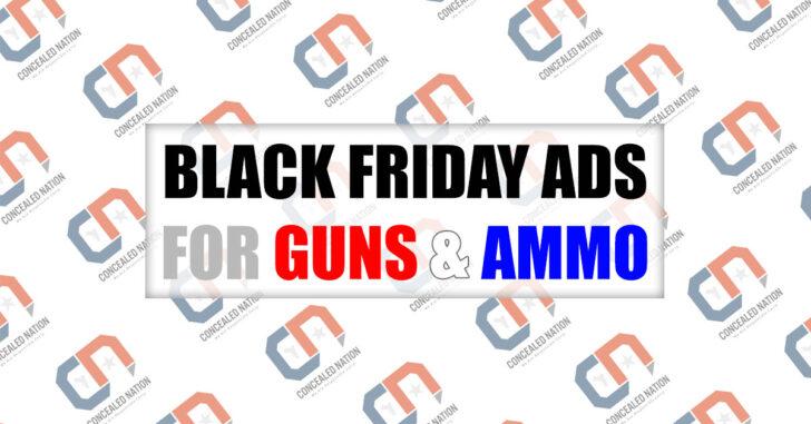 2020 Black Friday Gun & Ammo Deals – UPDATED 11/24