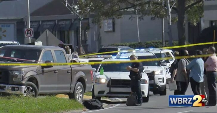 Robber, Who Just Killed Victim, Is Immediately Shot And Killed Himself By Armed Witness