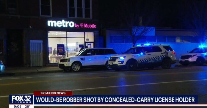 Concealed Carrier Fatally Shoots Robbery Suspect in Chicago Cell Phone Store
