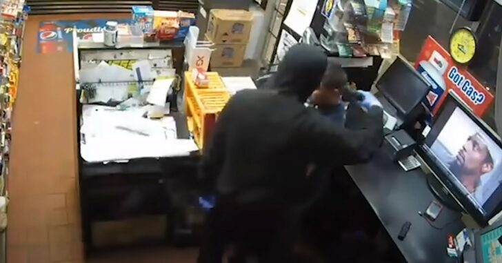Clerk Calls Robber's Bluff After Noticing That His Gun Is Fake
