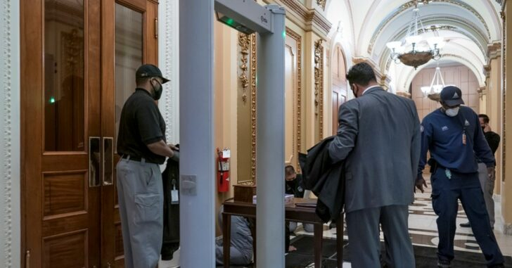 GOP Lawmaker Tried Entering House Chamber With Concealed Handgun, Newly Installed Metal Detectors Made That Impossible