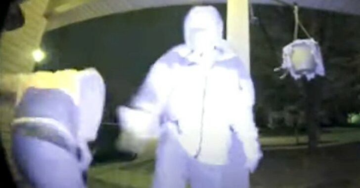 Home Invader Shoots Himself In The Leg, On Camera, During Break-In Attempt