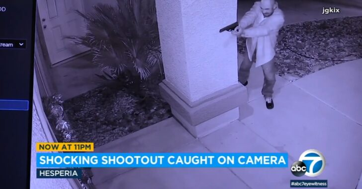 Homeowner Opens Fire On Man Attempting To Kick In His Front Door