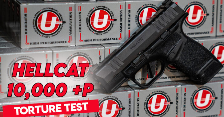 [TORTURE TEST] We Shot 10,000 Rounds Of +P Ammo Through A Springfield Armory Hellcat