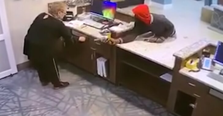 *GRAPHIC WARNING* Hotel Manager Fully Complies With Armed Robber, But He Murders Her Anyway