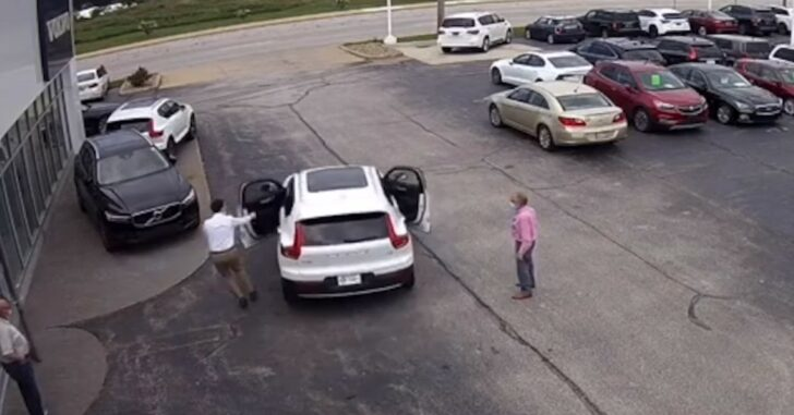 Armed Car Salesman Goes After Car Thief, Fires Shot At Fleeing Suspect