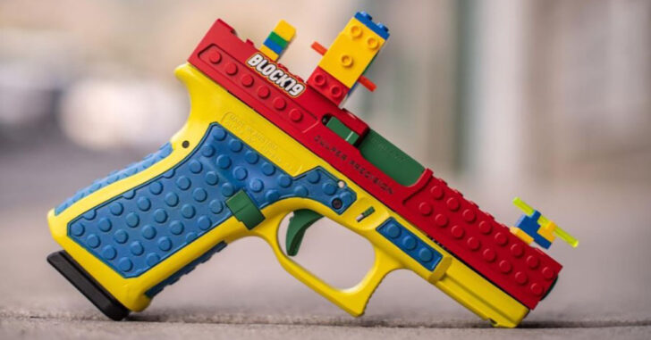 The BLOCK19 Is A Functioning Lego GLOCK. As You Can Imagine, Some People Are Less Than Thrilled.