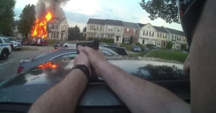 Amazing Video Shows Officer Shoot Active Shooter From A Great Distance
