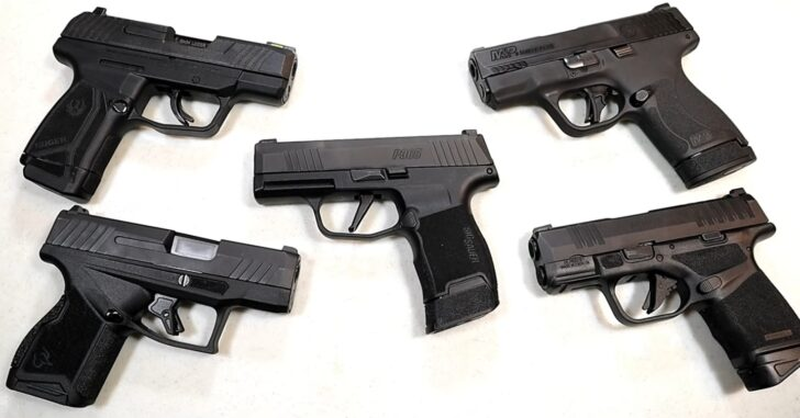 [VIDEO] Sig P365, Springfield Hellcat, Ruger Max-9, Taurus GX4, M&P Shield Plus