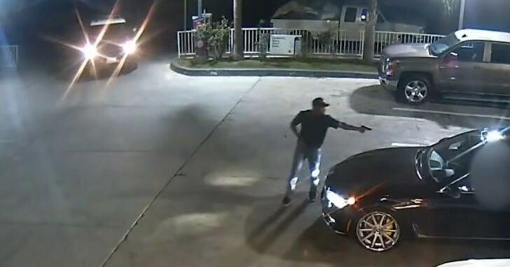 Police Show Up At The EXACT Moment An Armed Robbery Begins