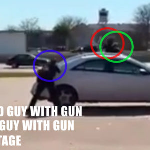 *WARNING: GRAPHIC* Armed Hostage Taker Taken Out With Precision Head Shot