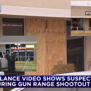 Two Gun Range Employees Return Fire After Detaining Two Armed Robbers and Taking Fire From Two More